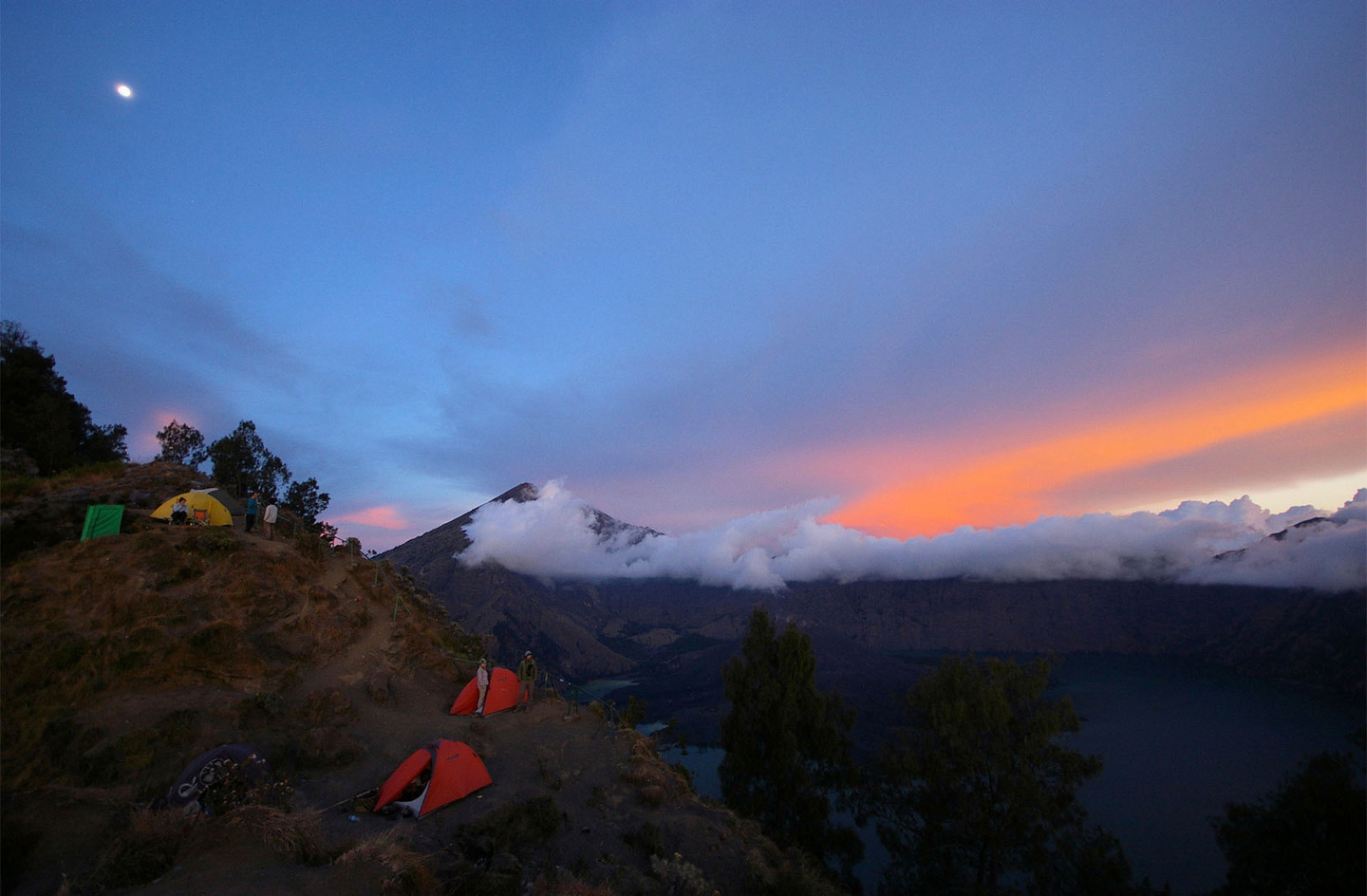 Indonesia Mt Rinjani in Lombok by Alister Munro