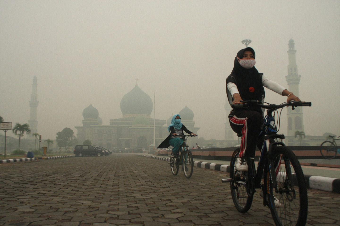 Haze Cover Riau Province - Indonesia