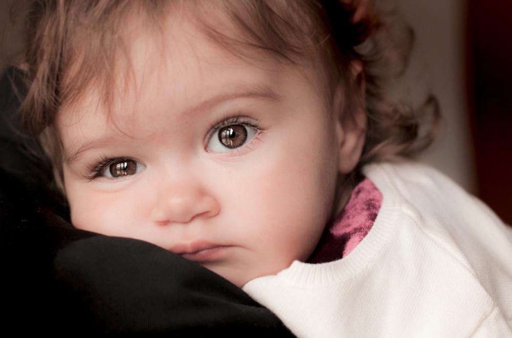 детские глазки
