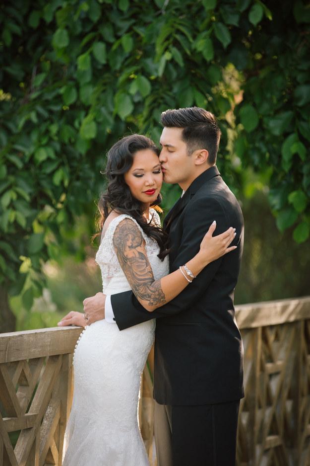 татуировка и свадьба