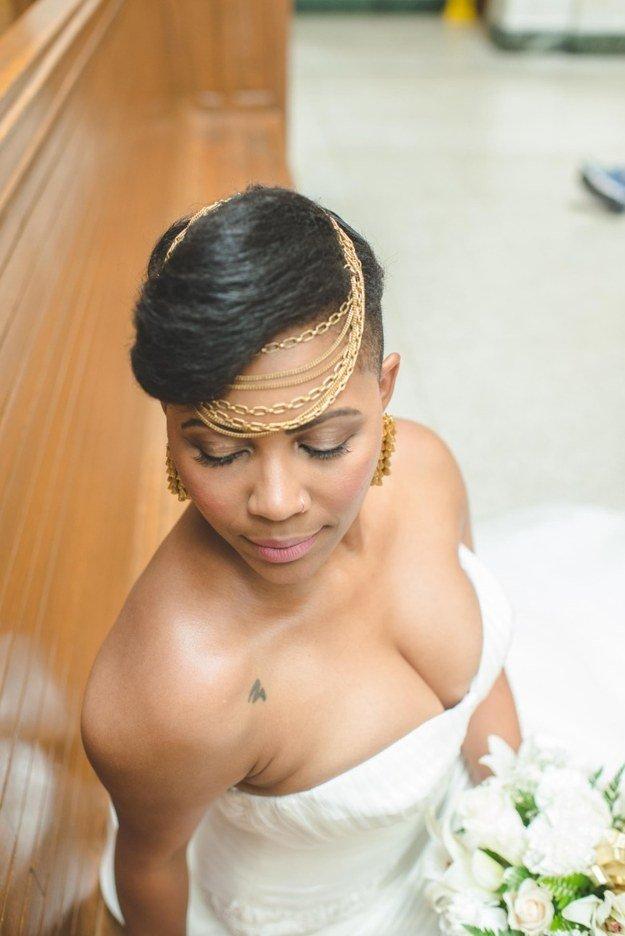красивые невесты  с татуировками