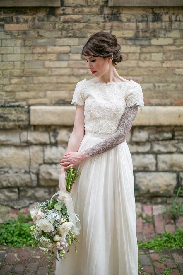 татуированные невесты