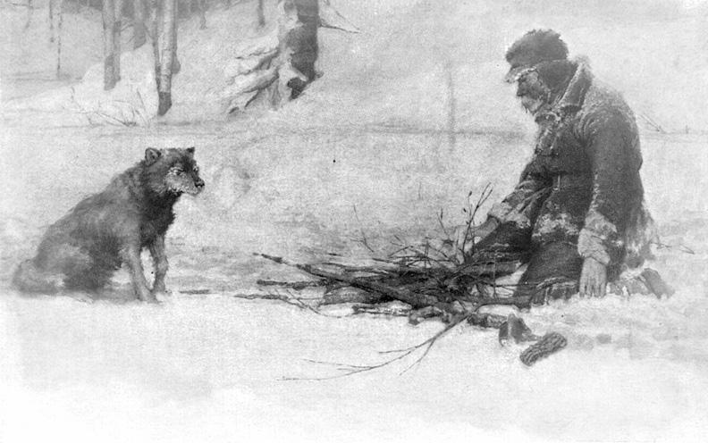 Зимние рассказы: костер Джека Лондона