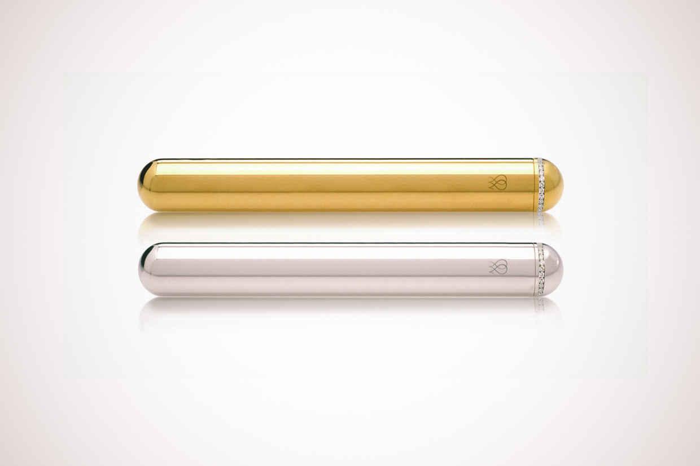 Золотой и платиновый вибратор