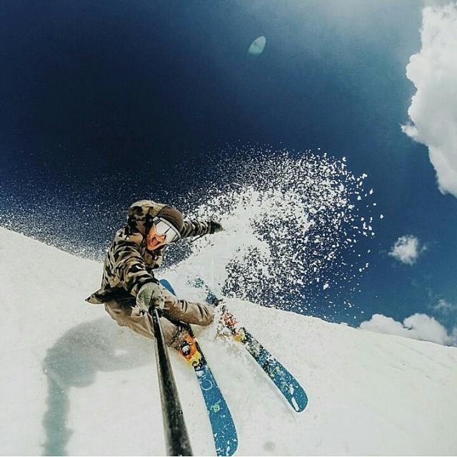 Селфи на лыжах