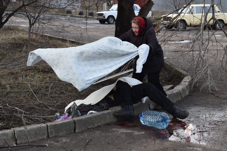 украина трупы на улицах
