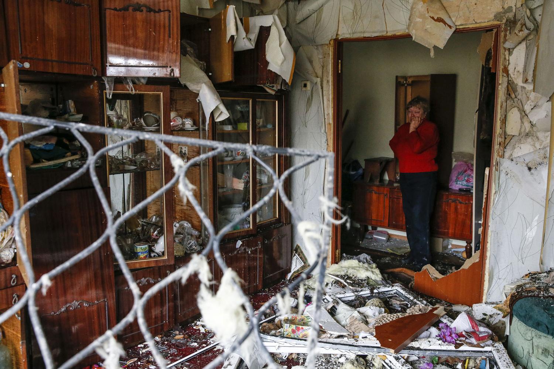 разрушенная квартира украина