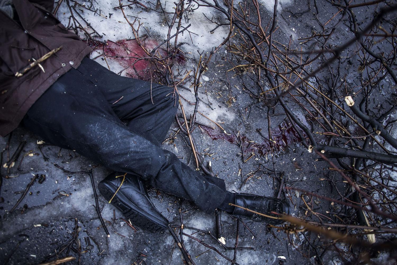 трупы на улицах украины
