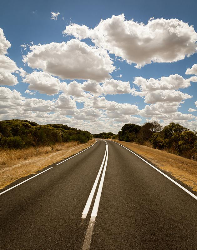 дорога облака