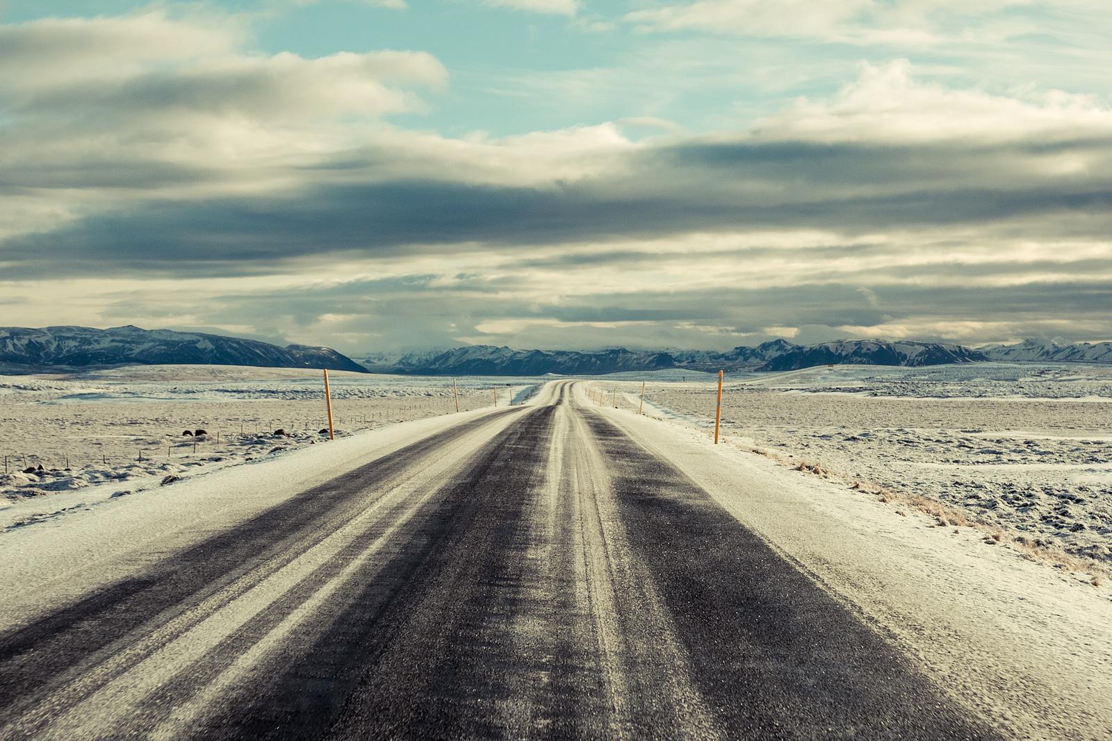 дорога и небо