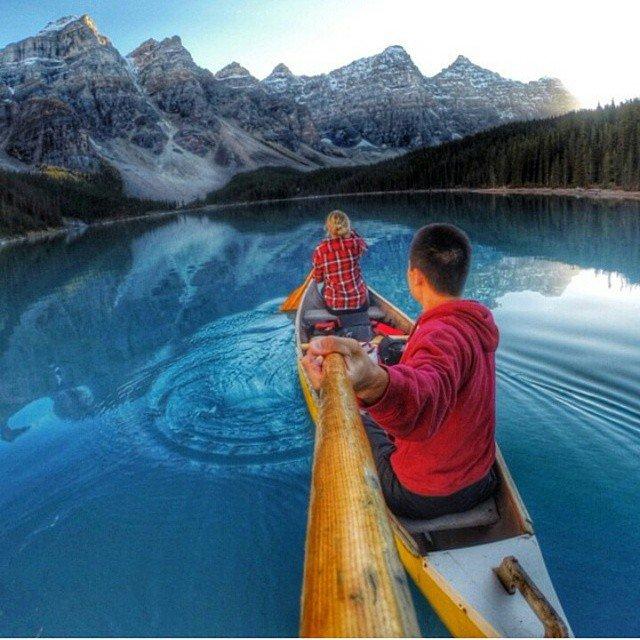 Селфи на лодке