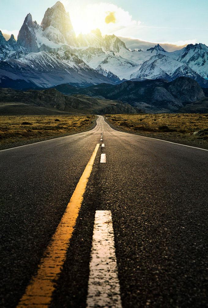 красивое фото дороги