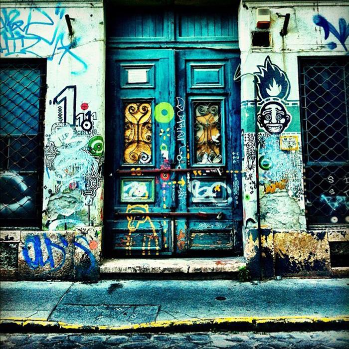 Разрисованные двери
