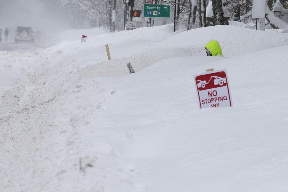 Зима в америке
