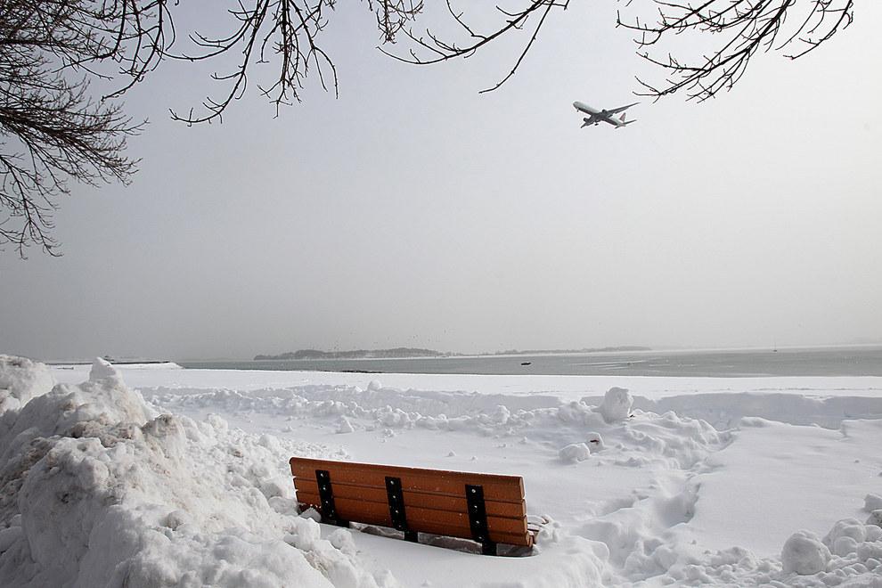 Америка в снегу