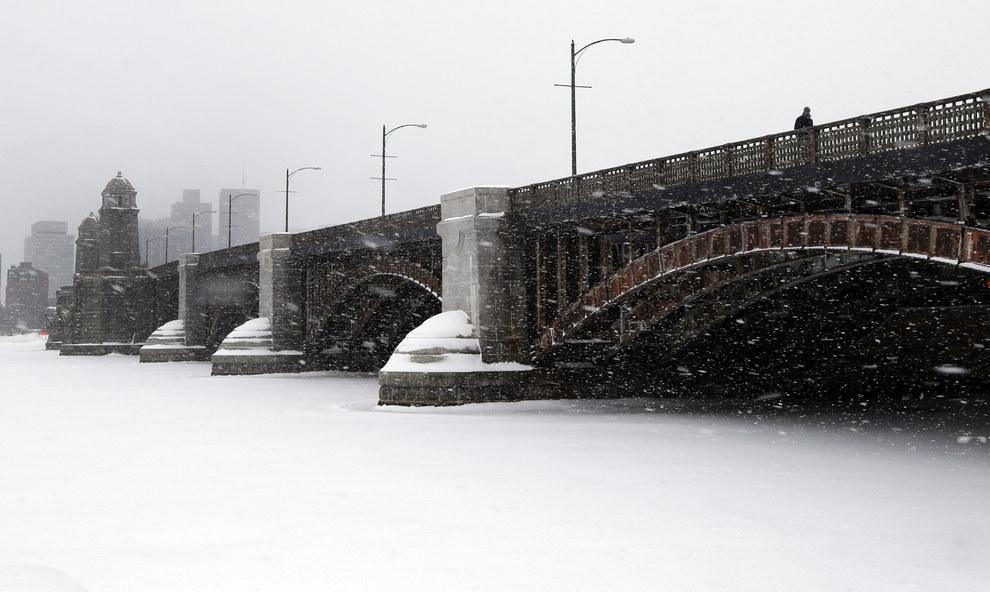 Бостон зимой