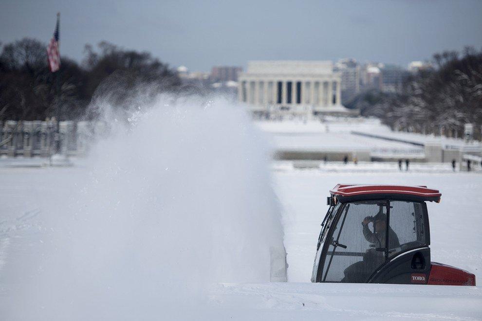 Снег в Америке 2015
