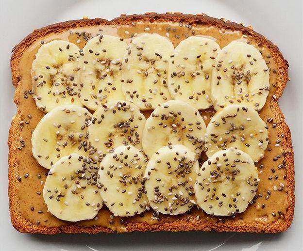 иде для тоскт с бананом