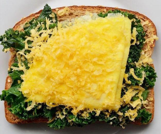 Вкусный тост