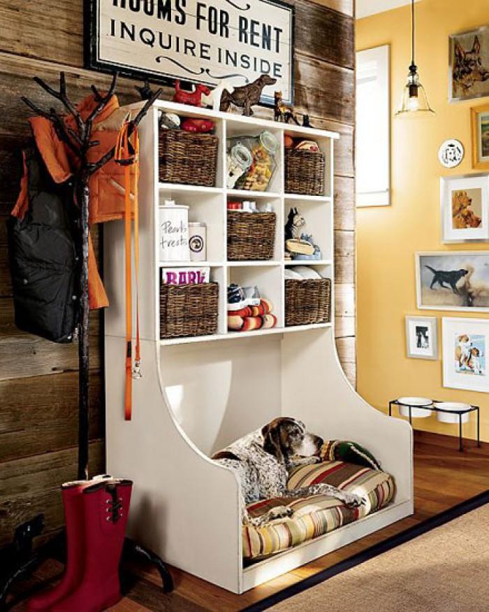 Уютное собачье место