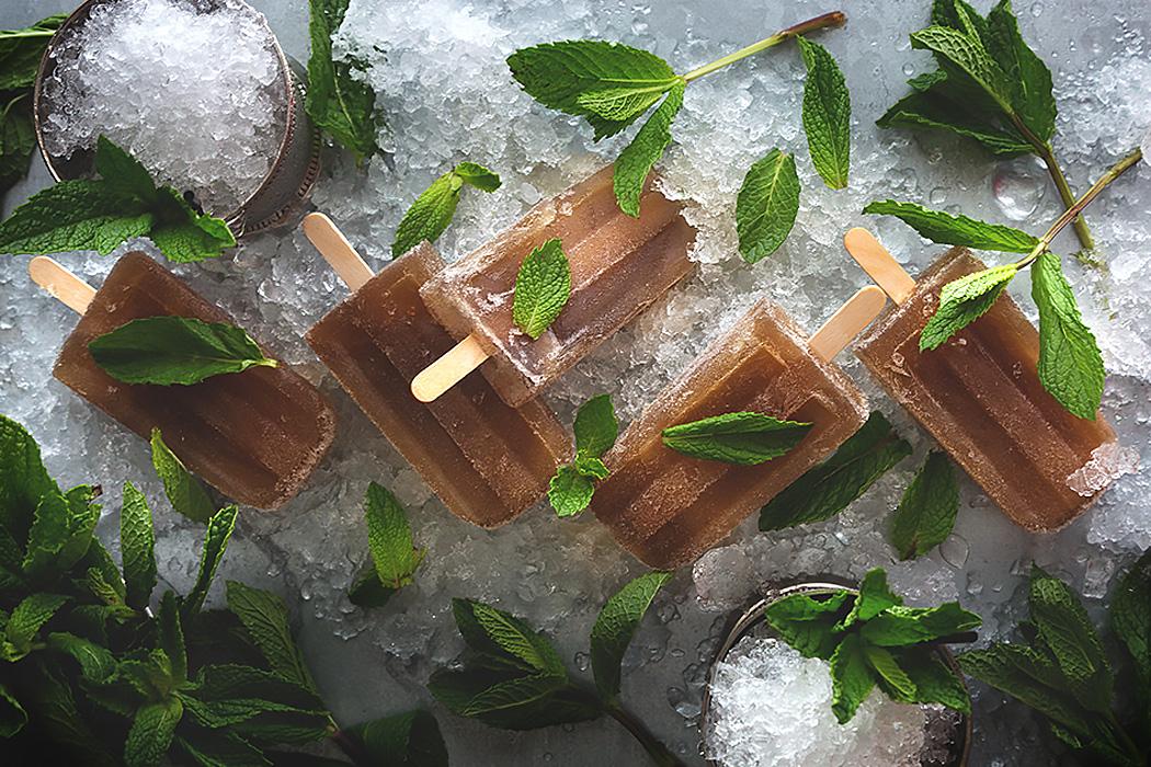 мятный джулеп с мороженым