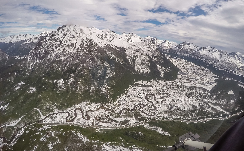 Argentina Ushuaia mountains by Chris Richmond