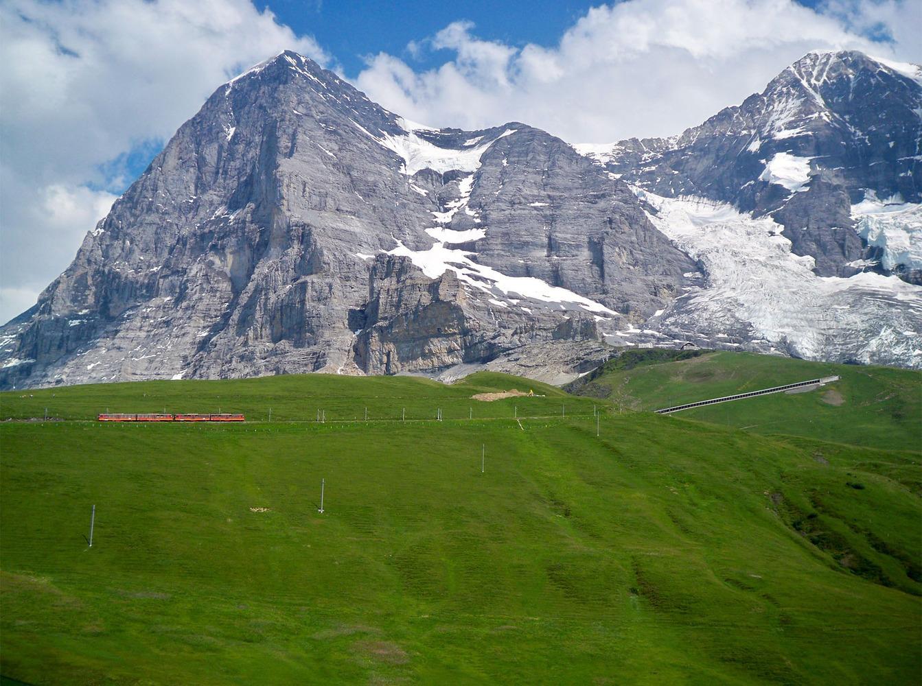 Switzerland Jungfrau train by Samantha Reid