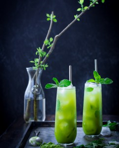 matcha mint juleps – edit