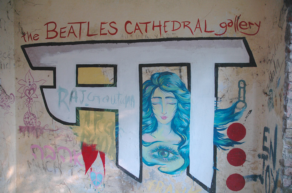 The Beatles pop band, lives on with wild elephants and tigers in Rishikesh in India