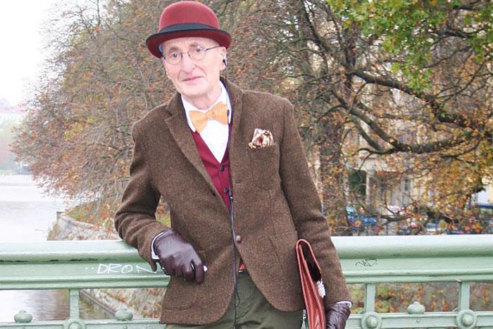 104-х летний хипстер