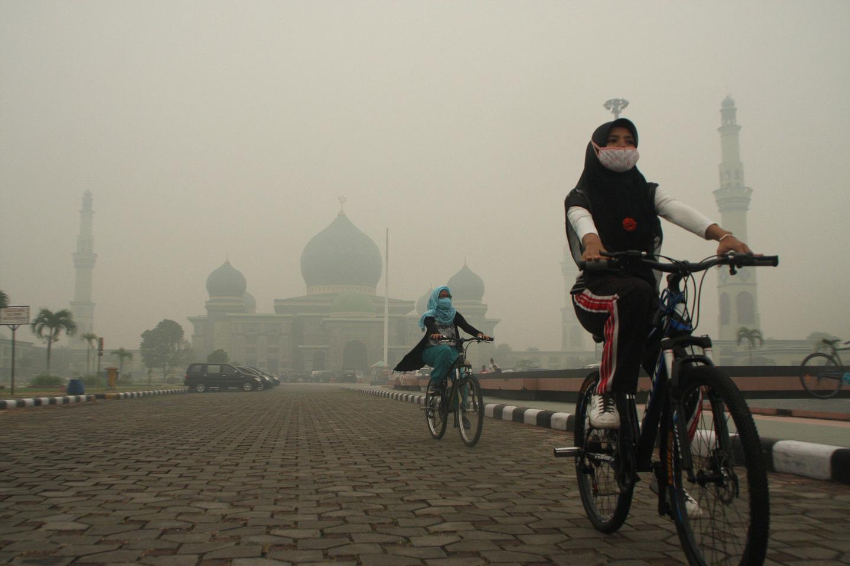 Haze Cover Riau Province - Indonesia