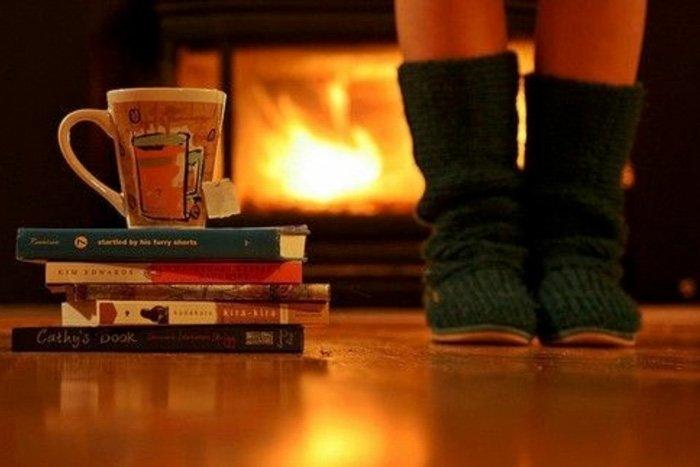 Чай и теплые тапочки