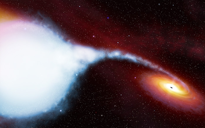 Черные дыры замедляют время