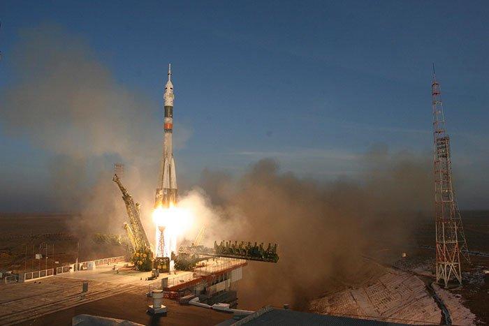С космодрома Куру стартовал «Союз» с европейскими спутниками