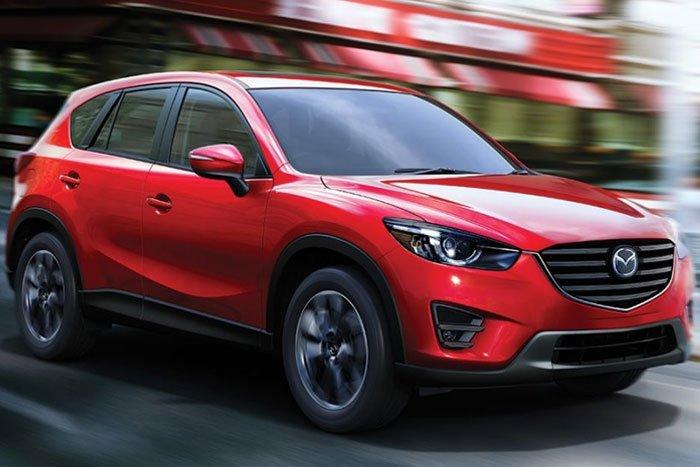 Mazda тестирует обновленный кроссовер