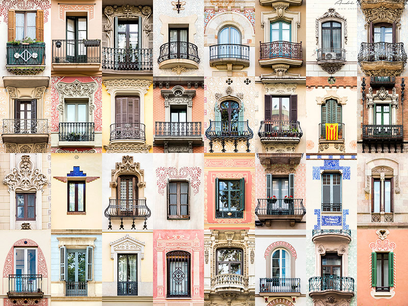 Windows of the World - Barcelona, Spain