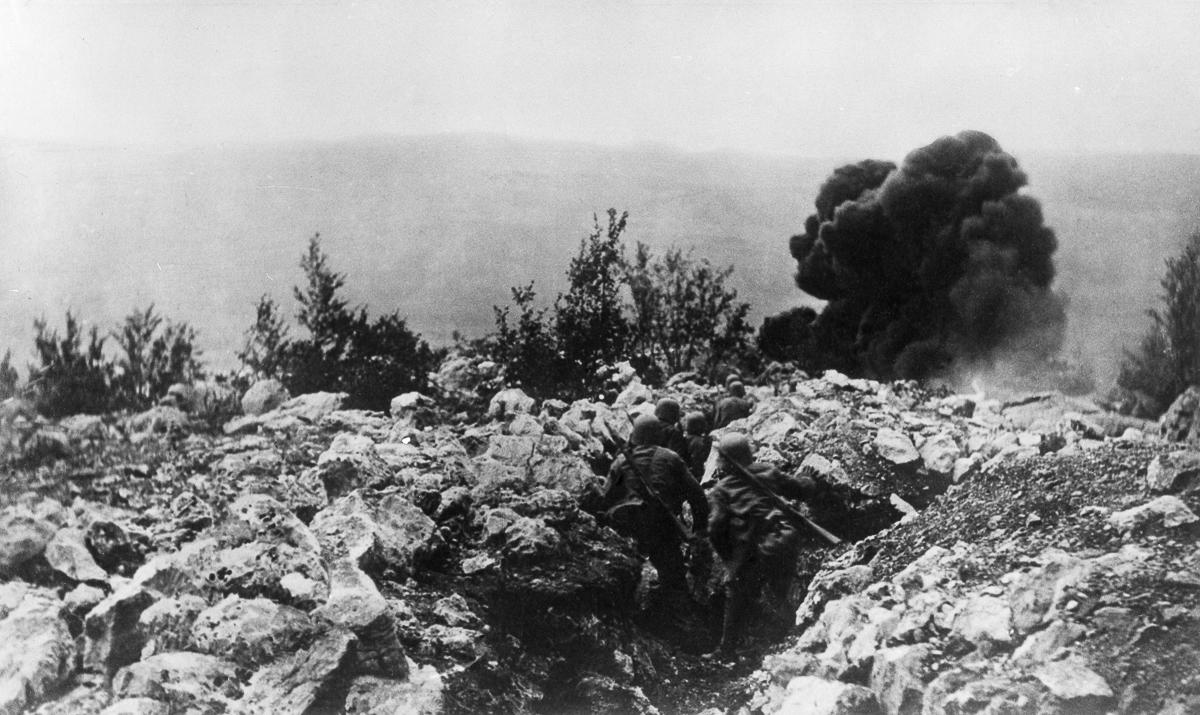 World War I in the Julian Alps / Isonzo river