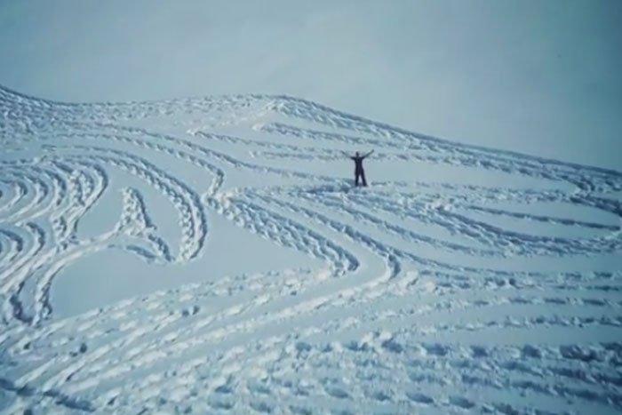 Игра престолов на снегу