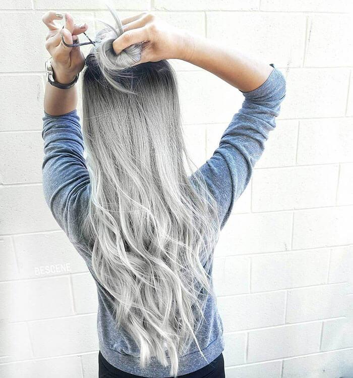 Пастельные волосы