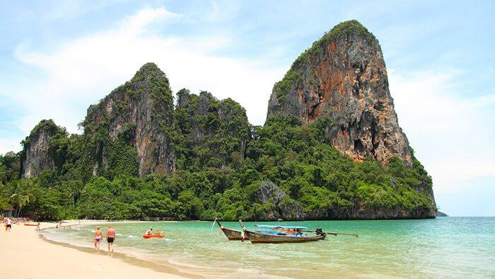 Рейли-Бич-Таиланд - очень красивый пляж