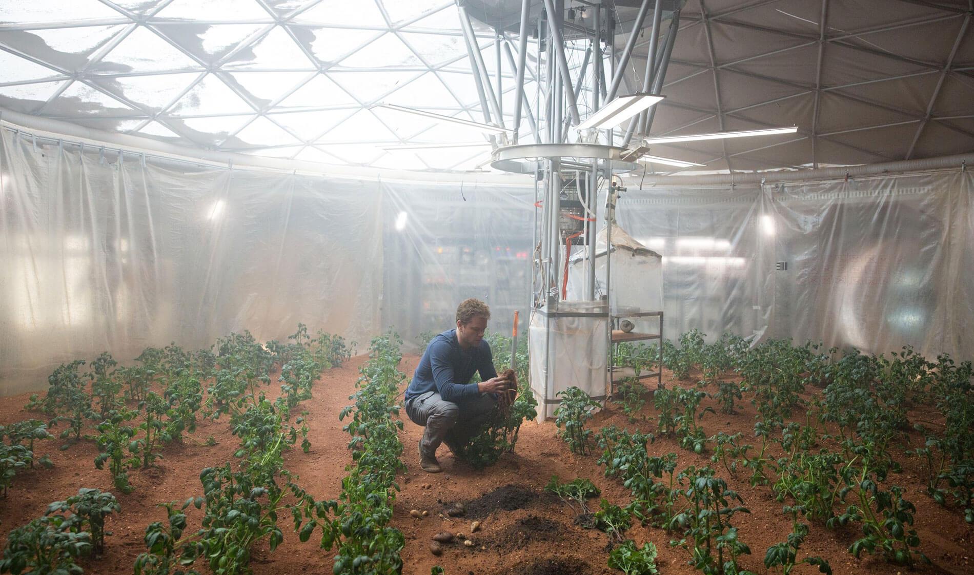 проблемы в космосе — еда и вода