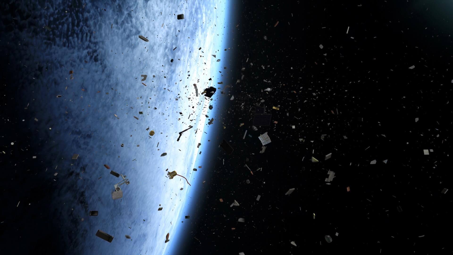 Космический мусор — одна из проблем в космосе