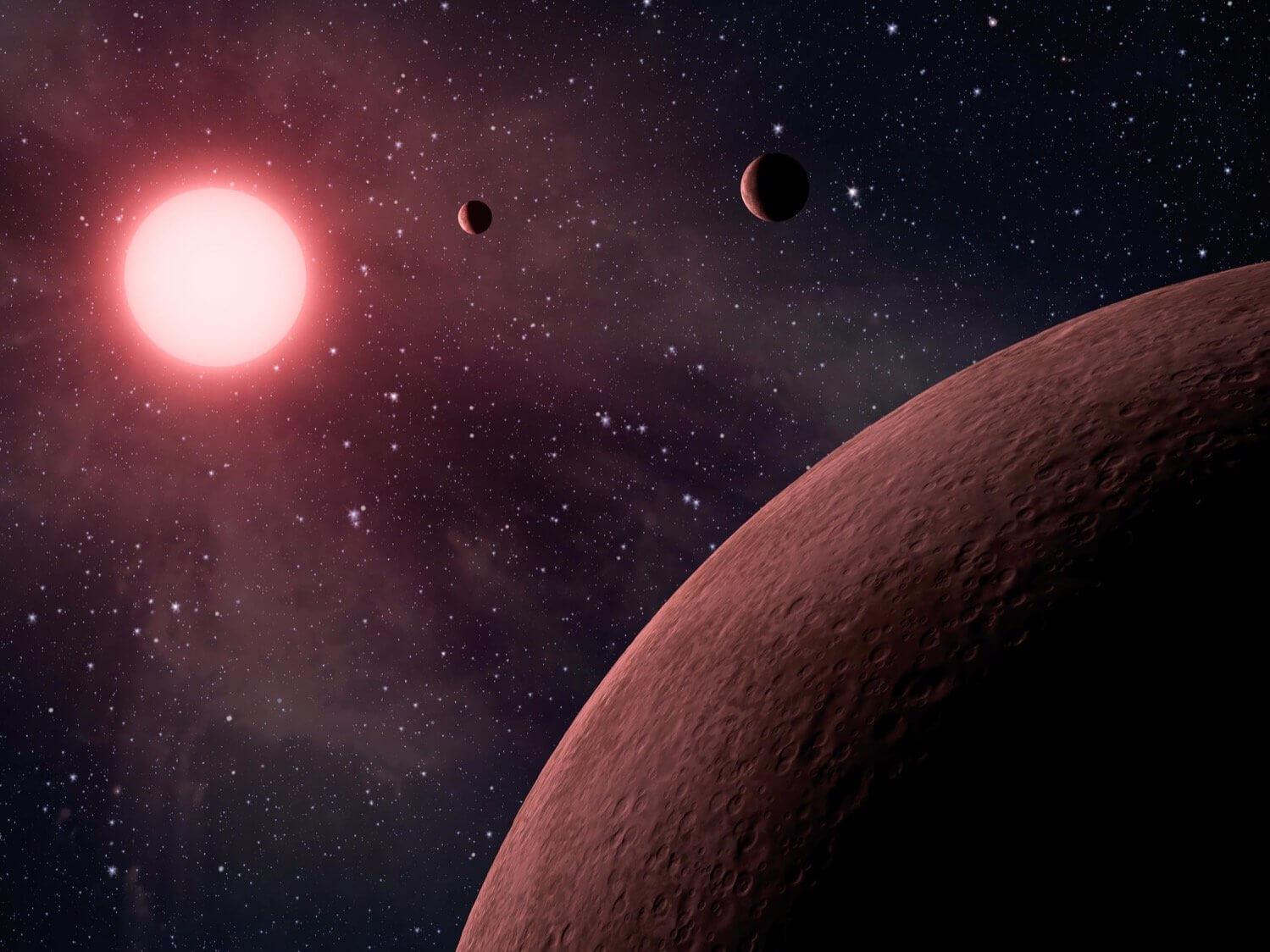 Планеты похожие на Землю