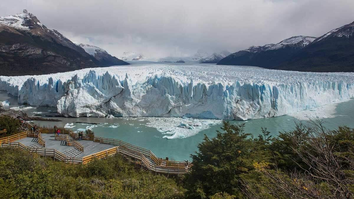 Ледники Национального парка Глейшер