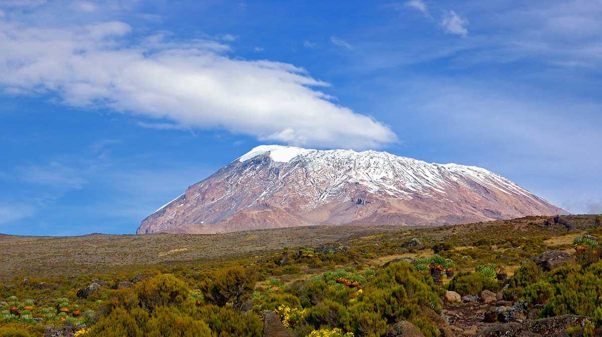 Ледник горы Килиманджаро