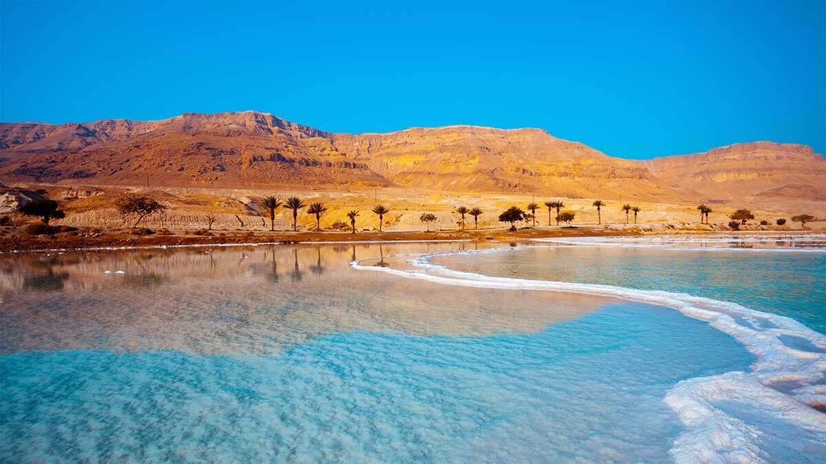 Части мира, которые исчкзнут: Мертвое море