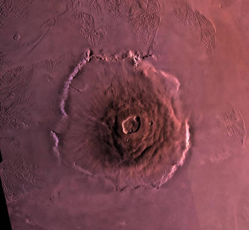 Олимп самая высокая гора на Марсе