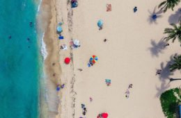 Красивый пляж