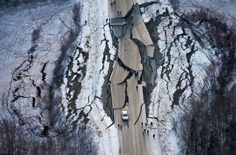 Землятресение на аляске
