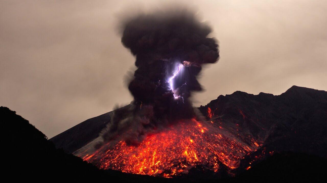 вулканы - природные явления на Земле